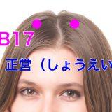 【ツボ解説】正営(しょうえい)GB17 〜老若男女問わず抜け毛は気になる